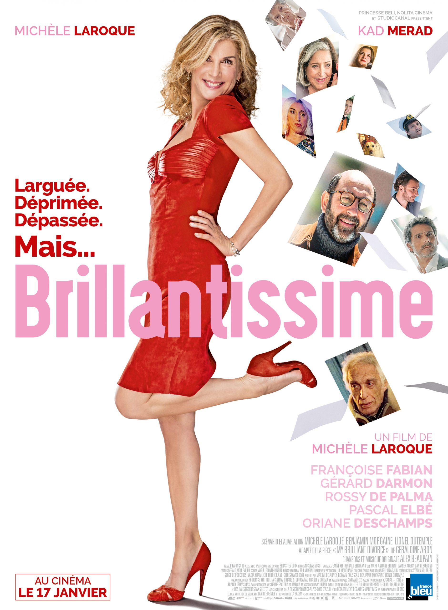 Πόστερ της ταινίας «Ωραίο μου Διαζύγιο – Brillantissime (2018)»