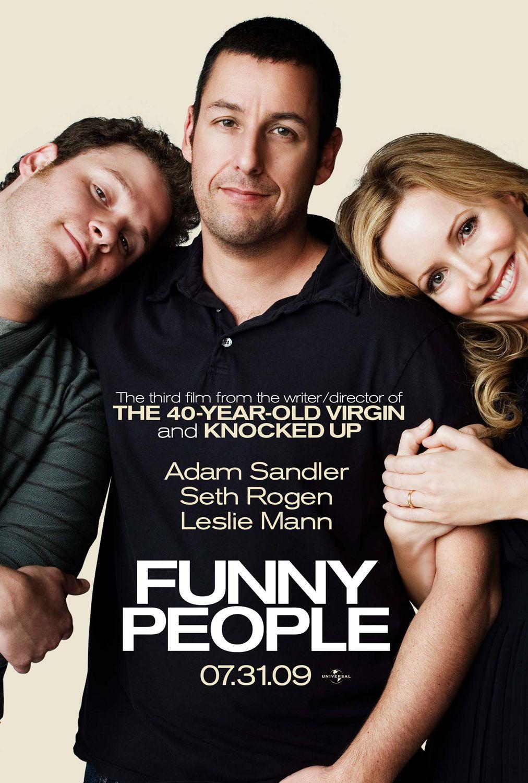 Πόστερ της ταινίας «Πεθαίνω στα γέλια (2009) | Funny People»