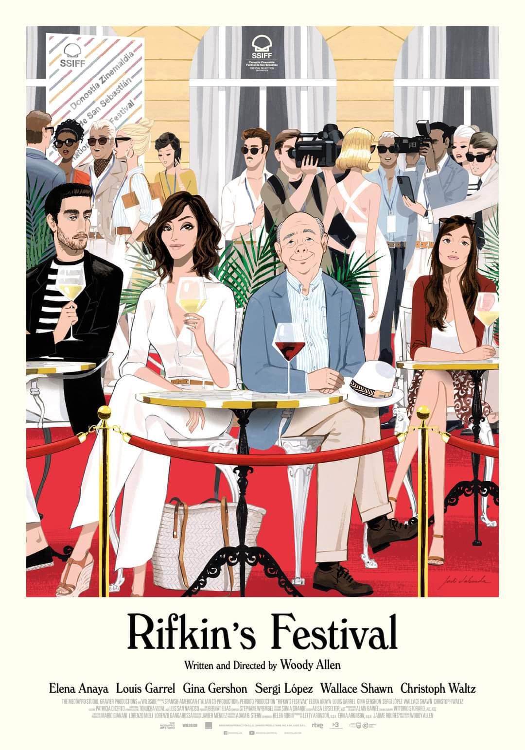 Πόστερ της ταινίας «Το Φεστιβάλ του Ρίφκιν (2020) | Rifkin's Festival»