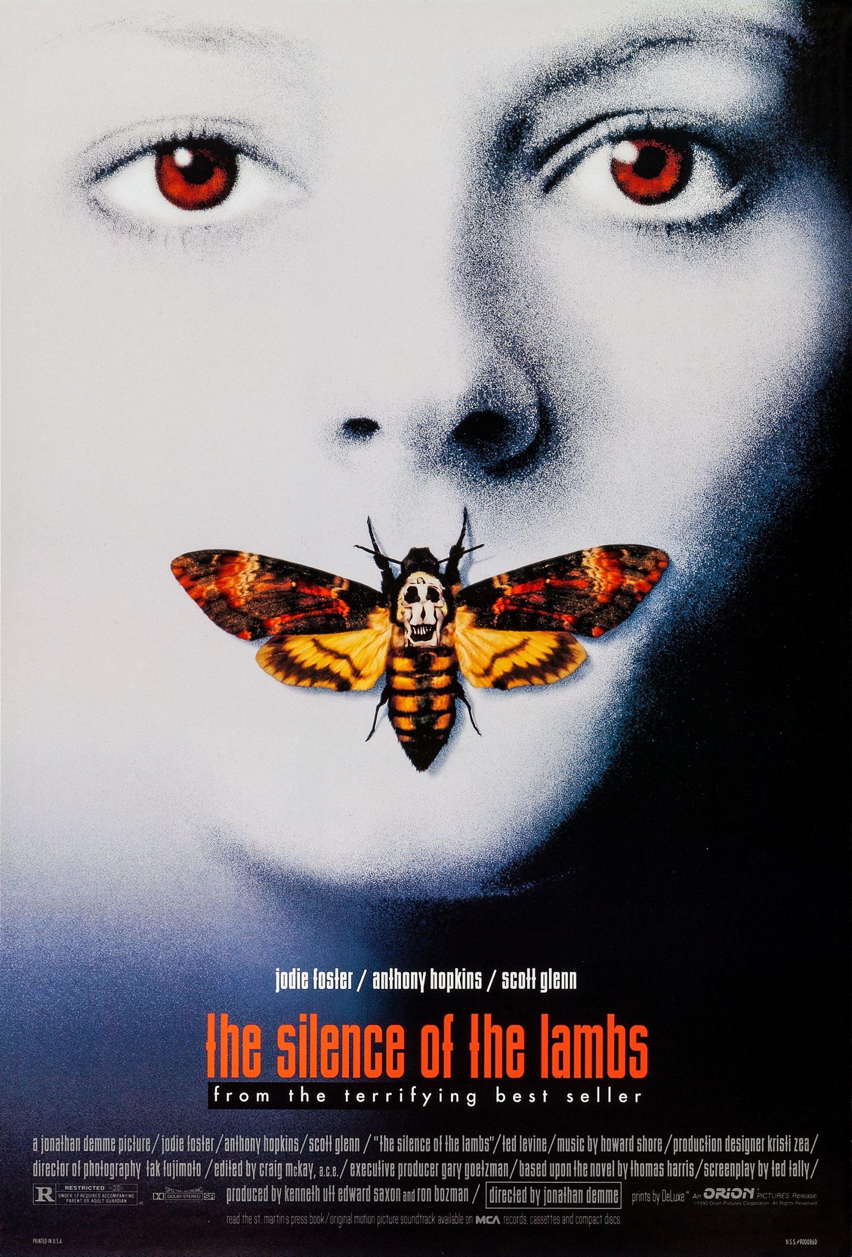 Πόστερ της ταινίας «Η Σιωπή των Αμνών (1991)   The Silence of the Lambs»