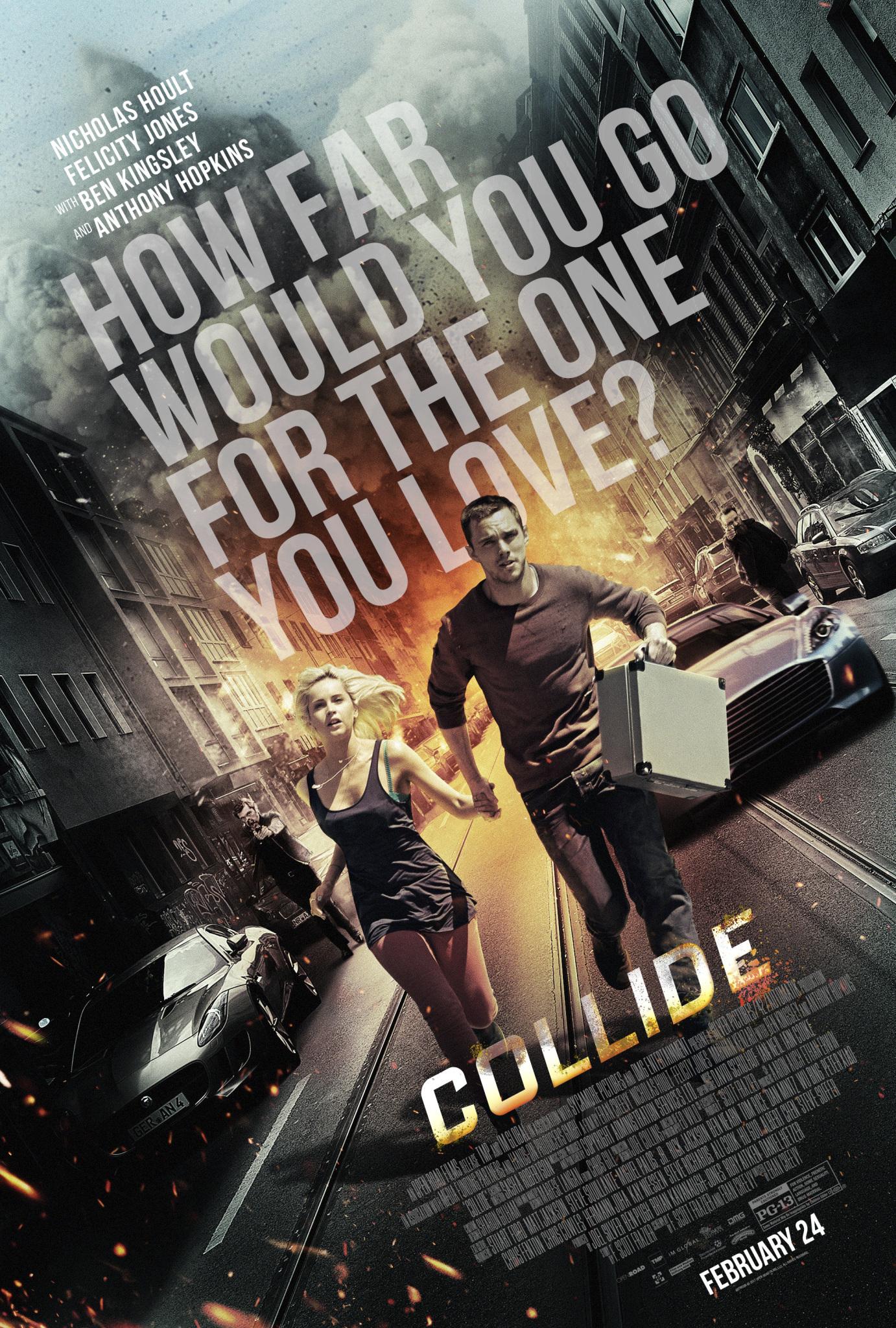 Πόστερ της ταινίας «Χωρίς Διέξοδο (2016) | Collide»