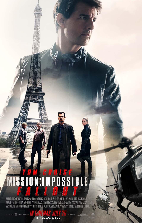 Πόστερ της ταινίας «Επικίνδυνη Αποστολή: Η Πτώση (2018)»