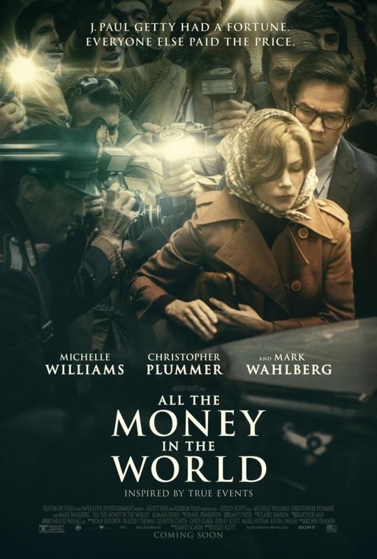 Πόστερ της ταινίας «Όλα τα Λεφτά του Κόσμου (2017) | All the Money in the World»