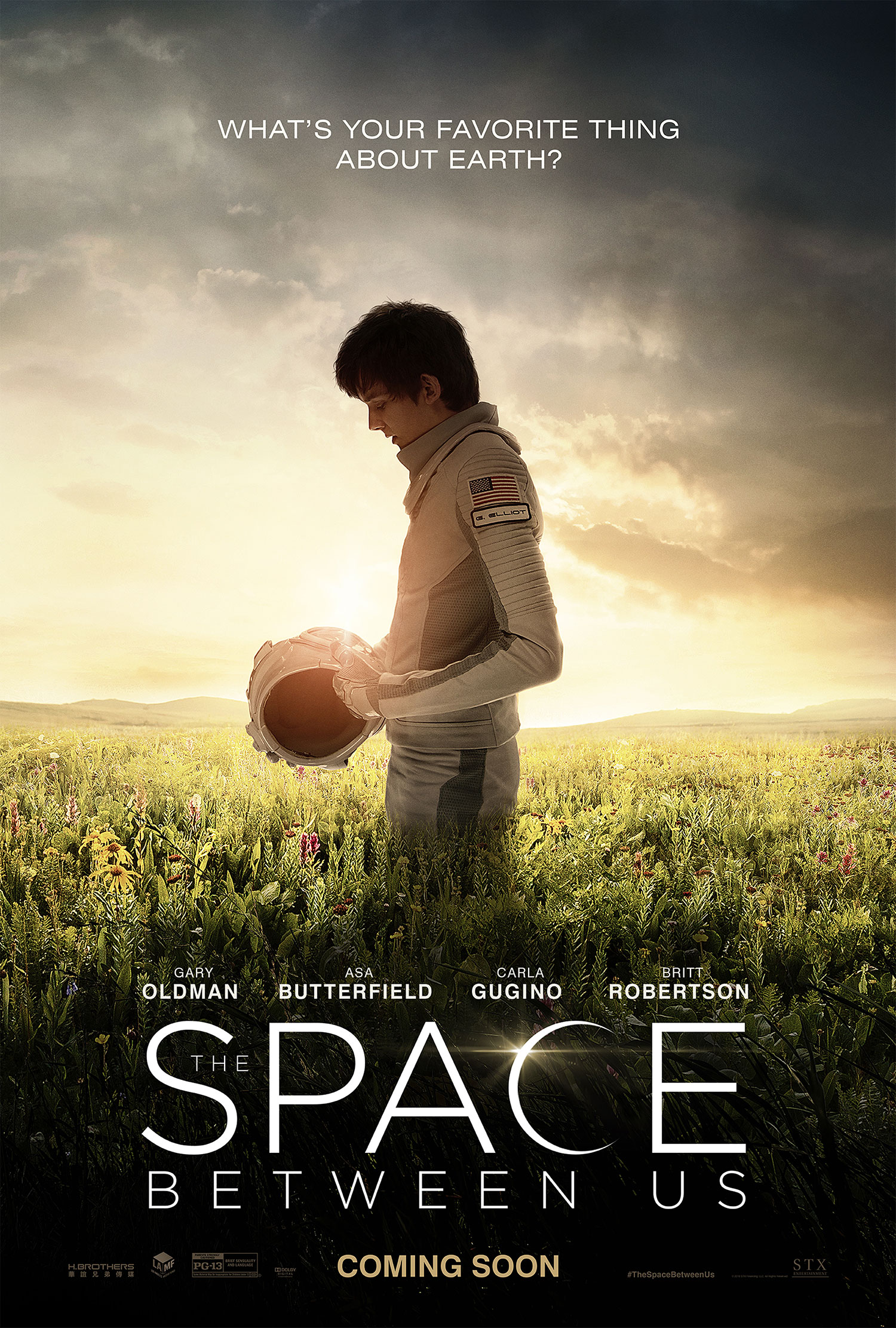 Πόστερ της ταινίας «Το διάστημα ανάμεσά μας (2017)   The Space Between Us»