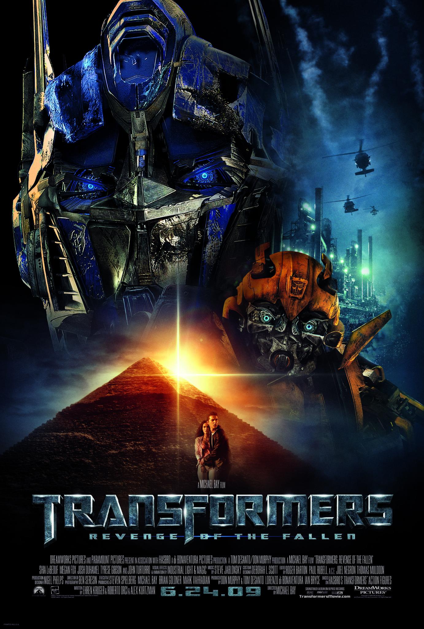 Πόστερ της ταινίας «Transformers 2: Η εκδίκηση των ηττημένων (2009)»
