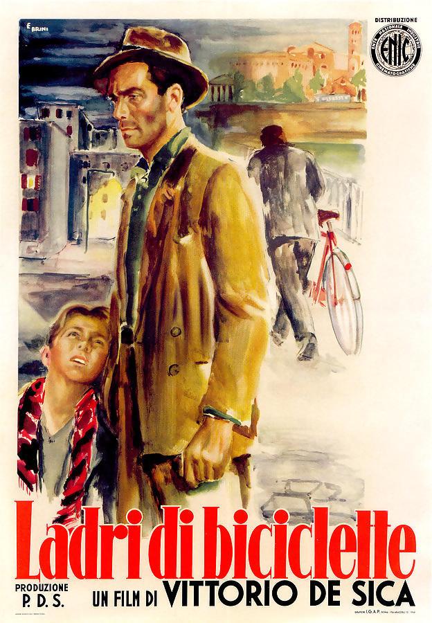 Πόστερ της ταινίας «Κλέφτης ποδηλάτων (1948)»