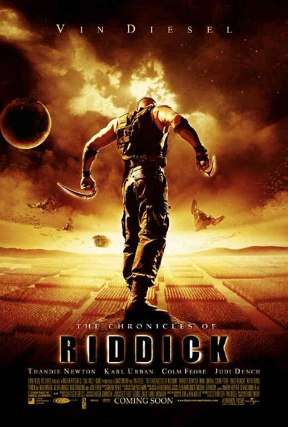 Πόστερ της ταινίας «Τα Χρονικά του Σκότους (2004)   The Chronicles of Riddick»