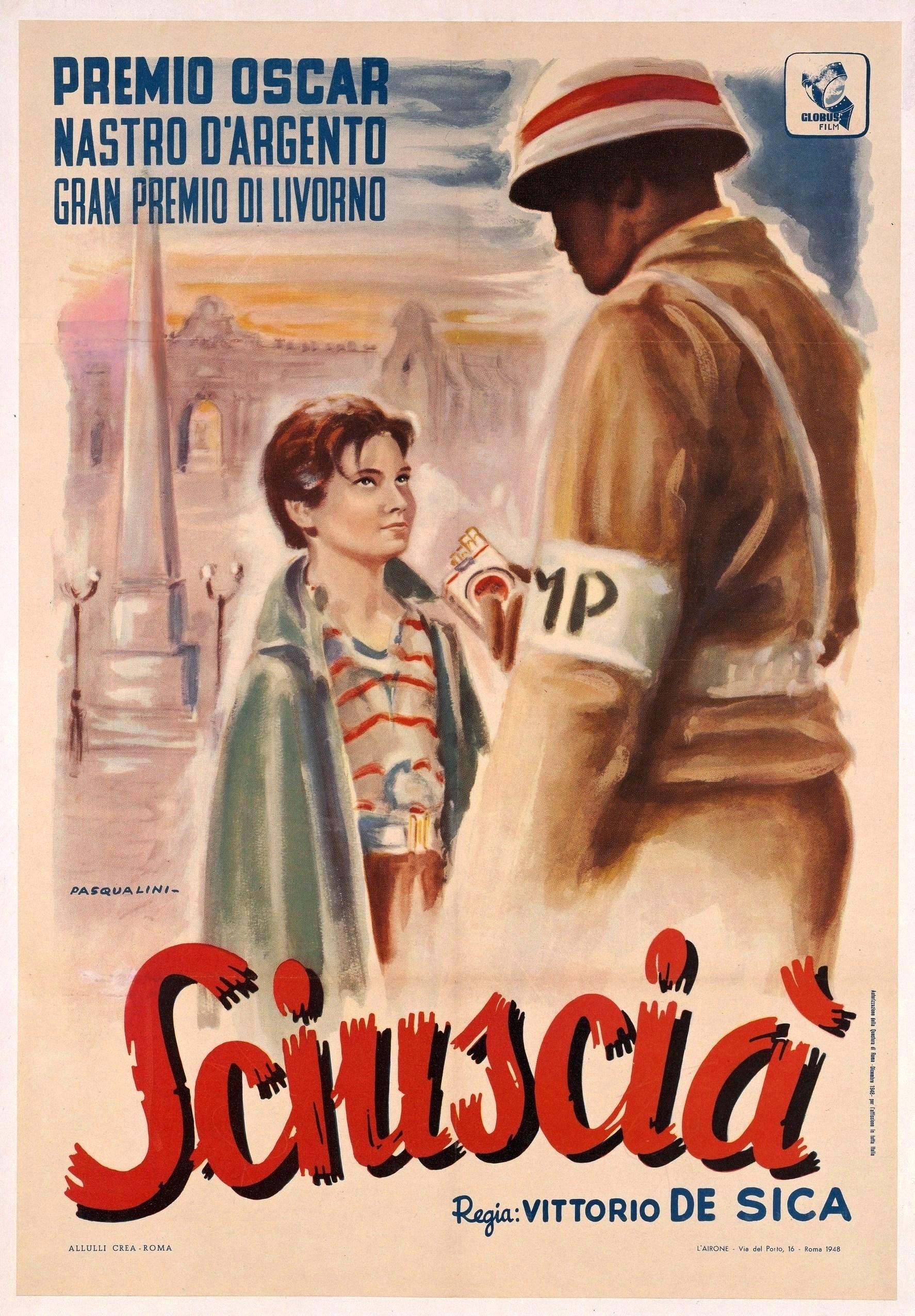 Πόστερ της ταινίας «Λούστρος Παπουτσιών (1946) | Sciuscia»