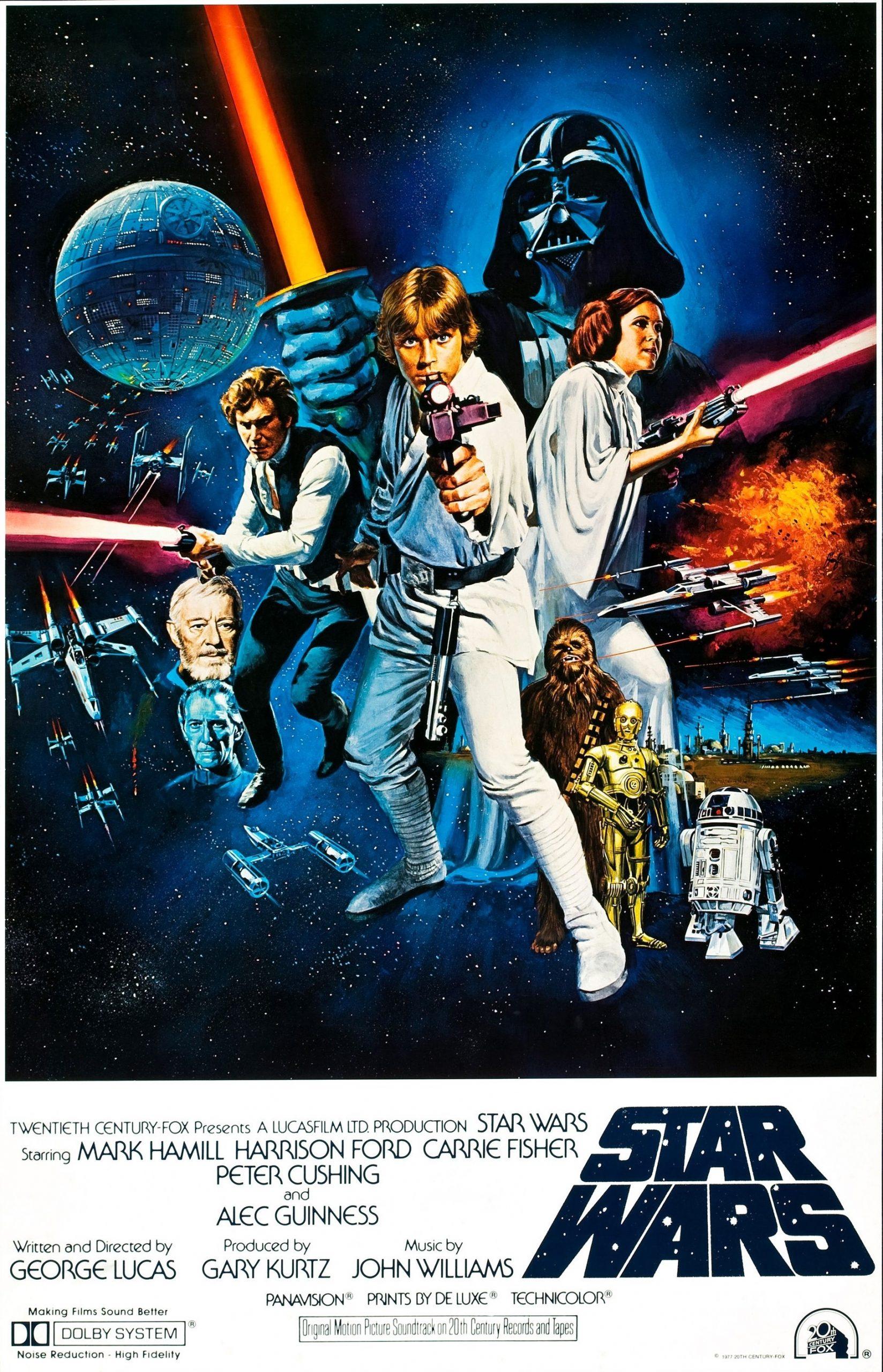 Πόστερ της ταινίας «Ο Πόλεμος των Άστρων: Επεισόδιο 4 – Μια Νέα Ελπίδα (1977)»