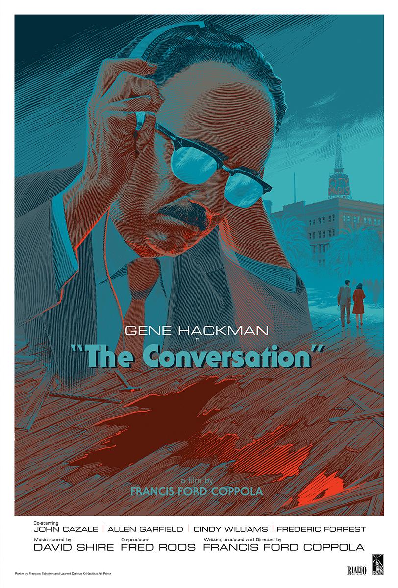 Πόστερ της ταινίας «Η Συνομιλία (1974)   The Conversation»