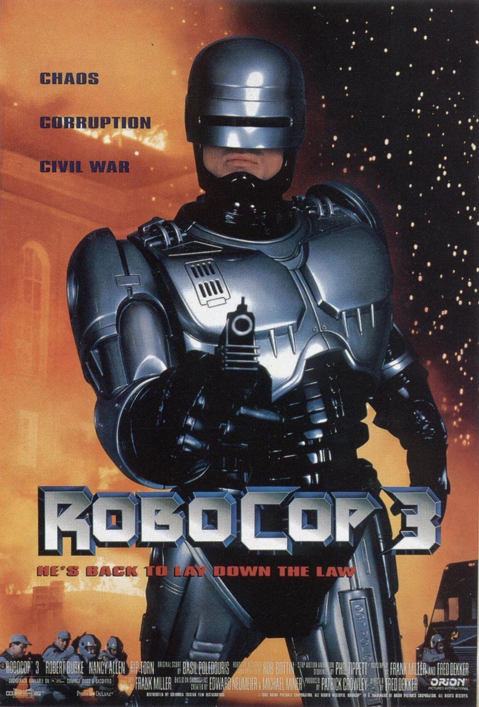 Πόστερ της ταινίας «Ρόμποκοπ 3 (1993) | Robocop 3»