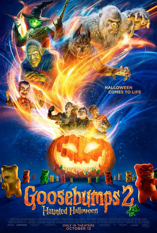 Πόστερ της ταινίας «Ανατριχίλες 2: Στοιχειωμένο Χάλοουιν (2018) | Goosebumps 2: Haunted Halloween»