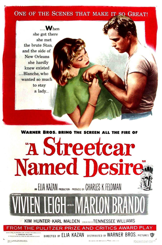 Πόστερ της ταινίας «Λεωφορείον ο Πόθος (1951) | A Streetcar Named Desire»