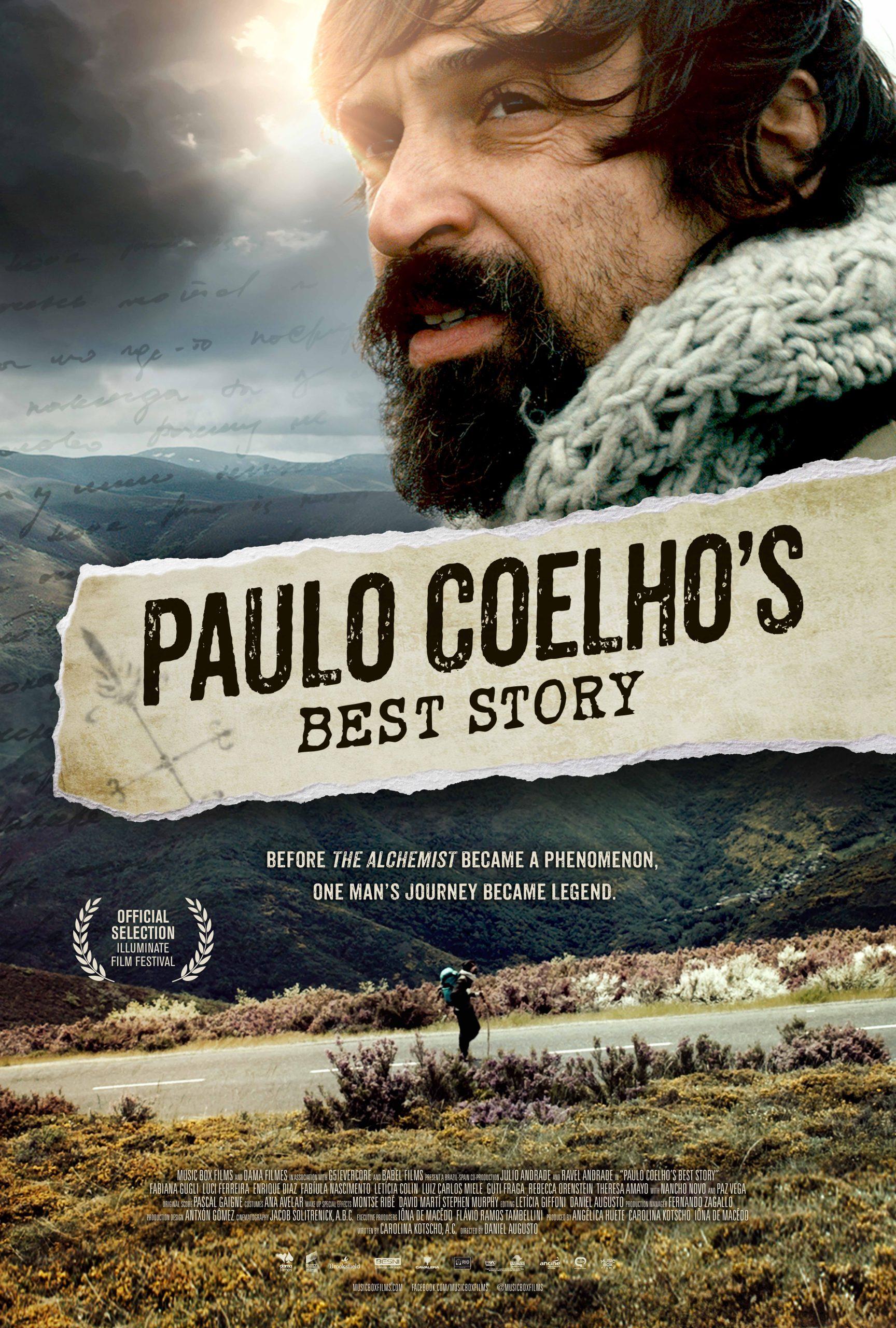Πόστερ της ταινίας «Πάουλο Κοέλιο (2014)   Paulo Coelho's Best Story»