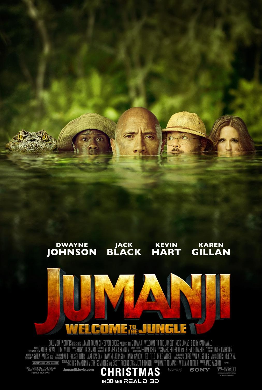 Πόστερ της ταινίας «Jumanji: Καλώς Ήρθατε στη Ζούγκλα (2017)»