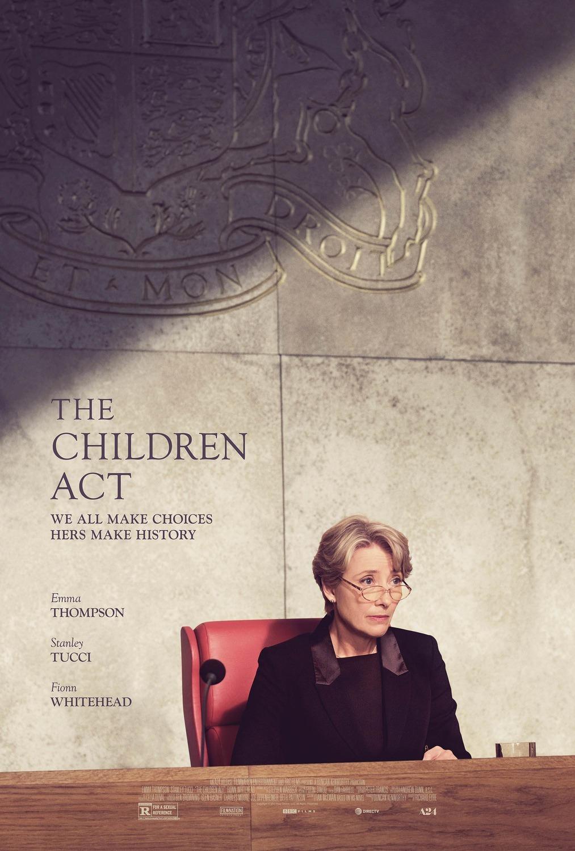 Πόστερ της ταινίας «Νόμος Περί Τέκνων (2017) | The Children Act»