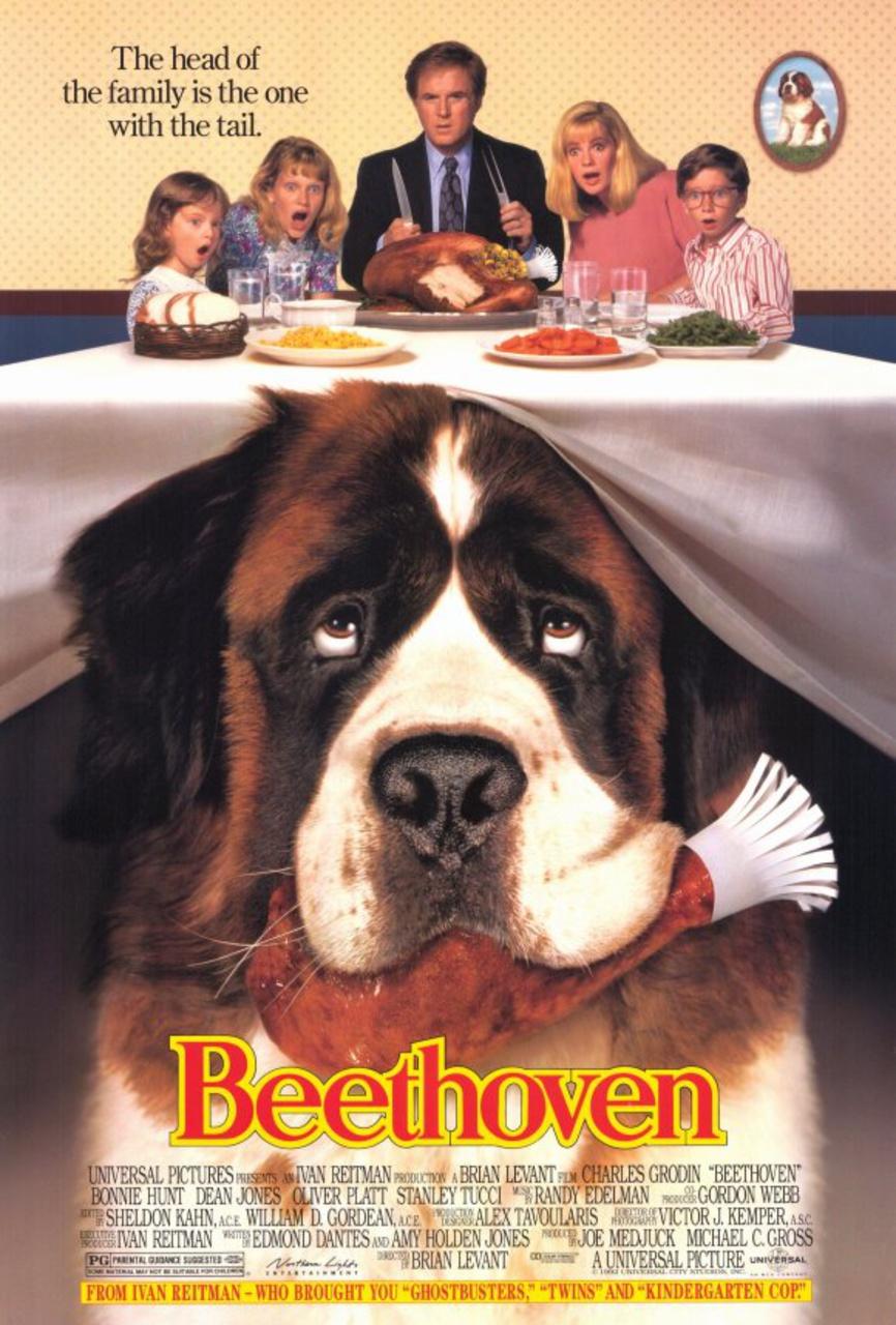 Πόστερ της ταινίας «Μπετόβεν (1992) | Beethoven»