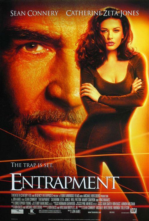 Πόστερ της ταινίας «Διπλή Παγίδα (1999)   Entrapment»