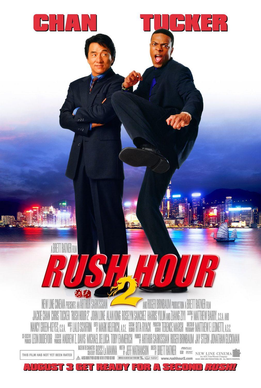Πόστερ της ταινίας «Αλεξίσφαιροι Ντετέκτιβ 2 (2001) | Rush Hour 2»