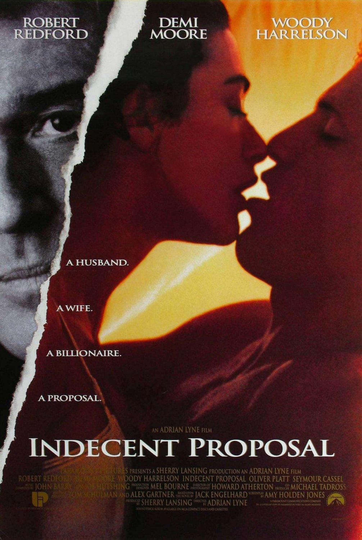 Πόστερ της ταινίας «Ανήθικη Πρόταση (1993)   Indecent Proposal»