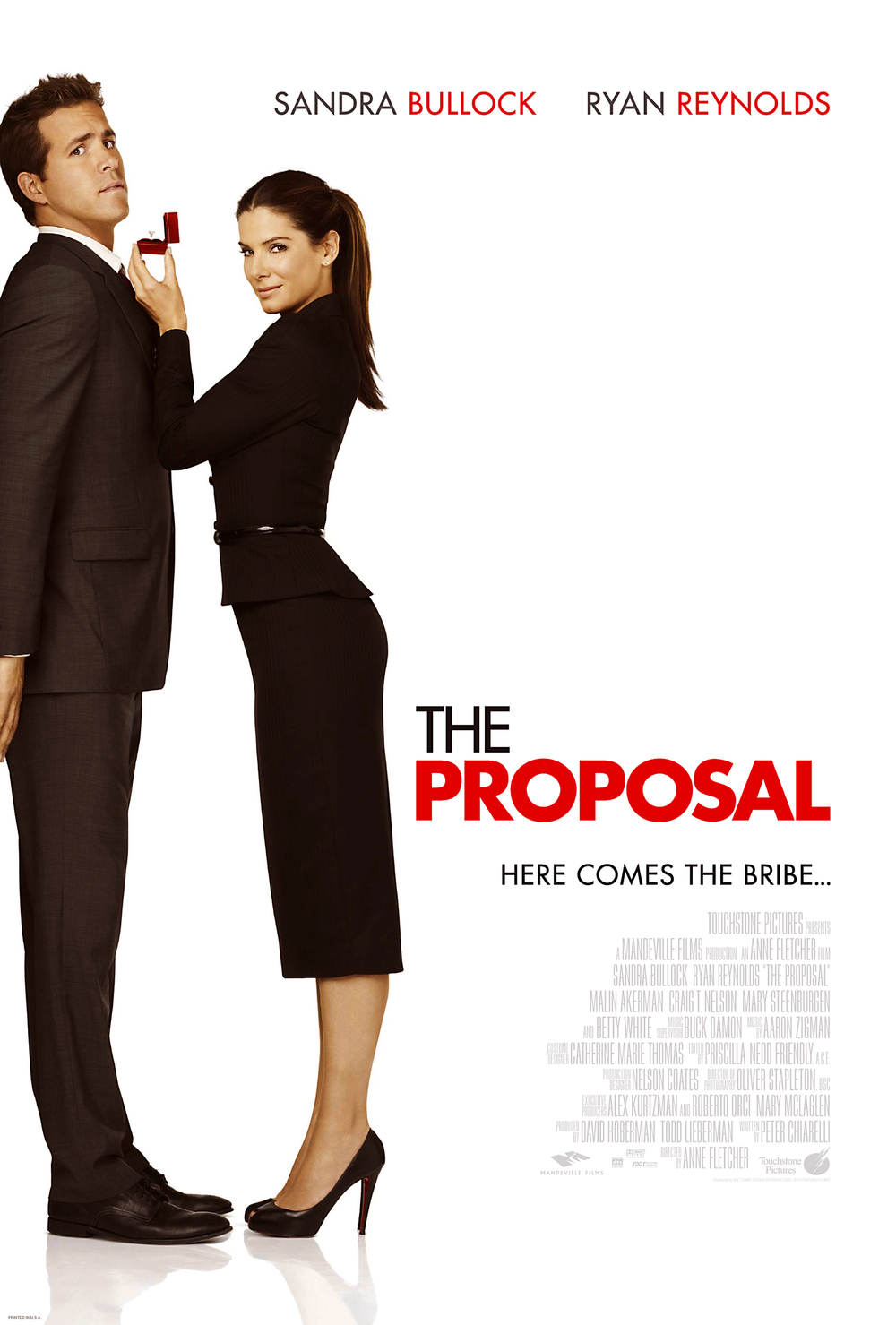 Πόστερ της ταινίας «Η πρόταση (2009)   The Proposal»
