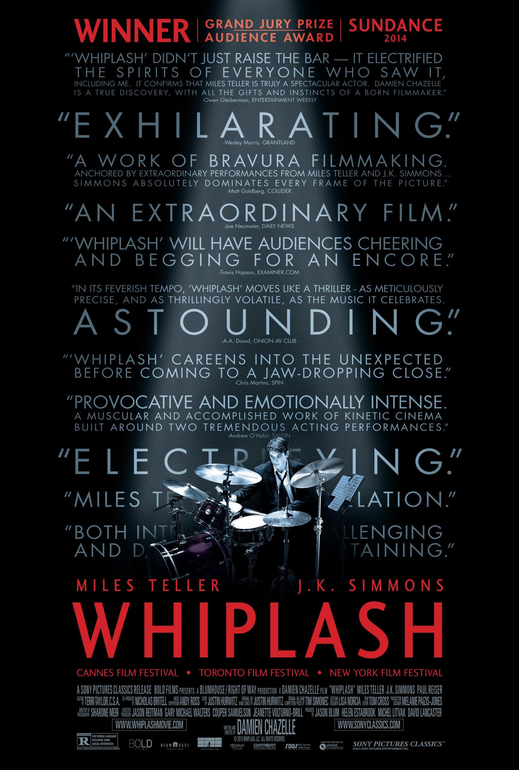 Πόστερ της ταινίας «Χωρίς Μέτρο (2014)   Whiplash»