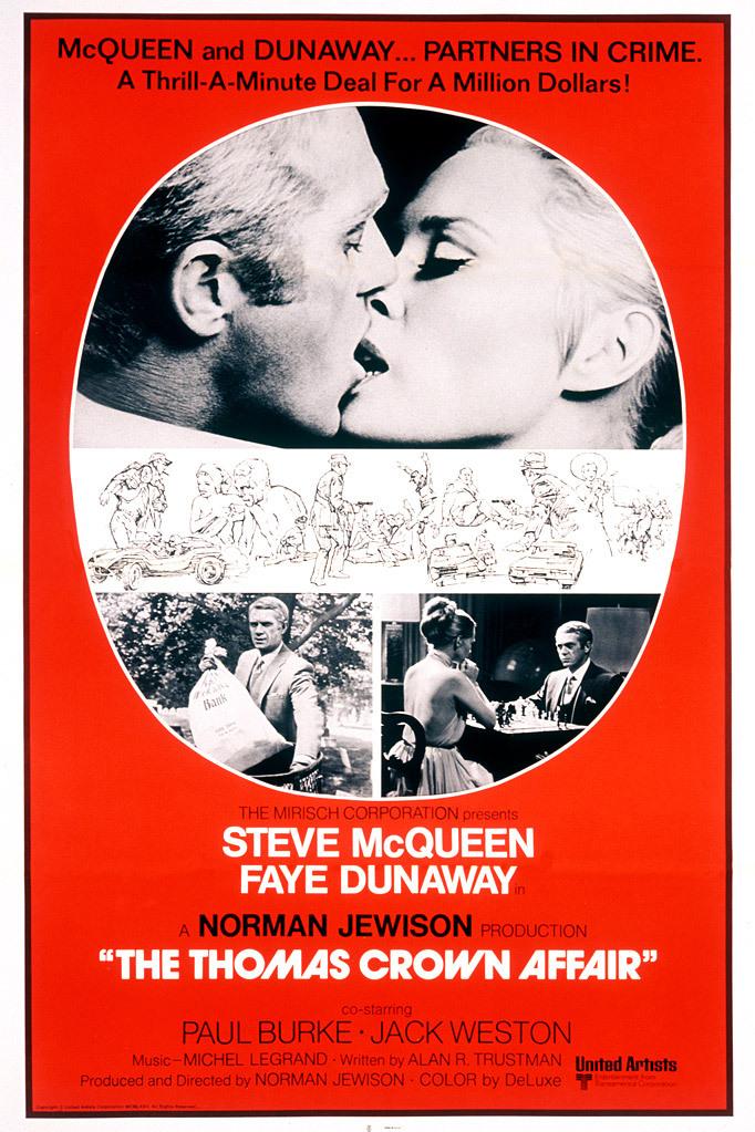 Πόστερ της ταινίας «Υπόθεση Τόμας Κράουν (1968)   The Thomas Crown Affair»