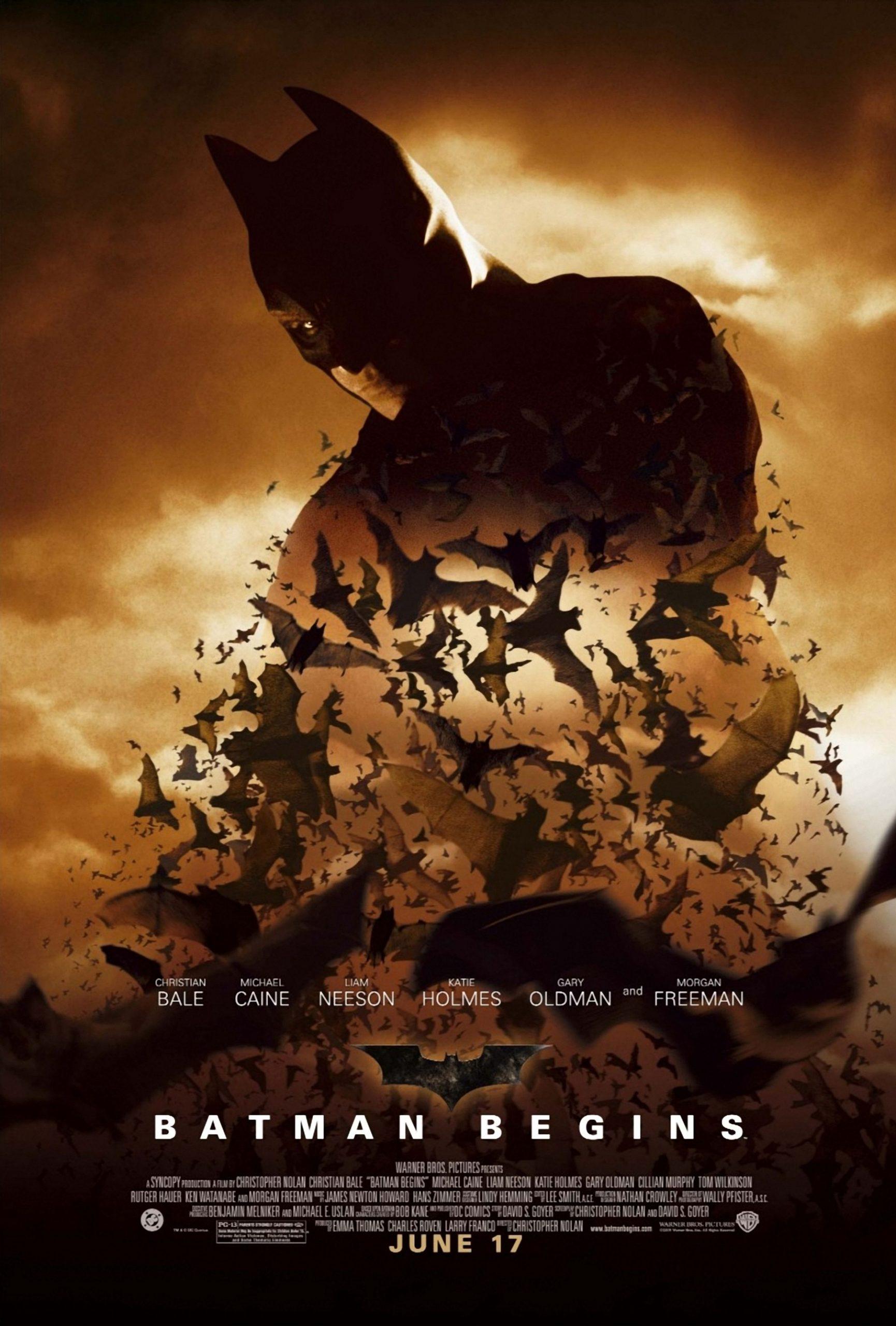 Πόστερ της ταινίας «Μπάτμαν: Η αρχή (2005) | Batman Begins»