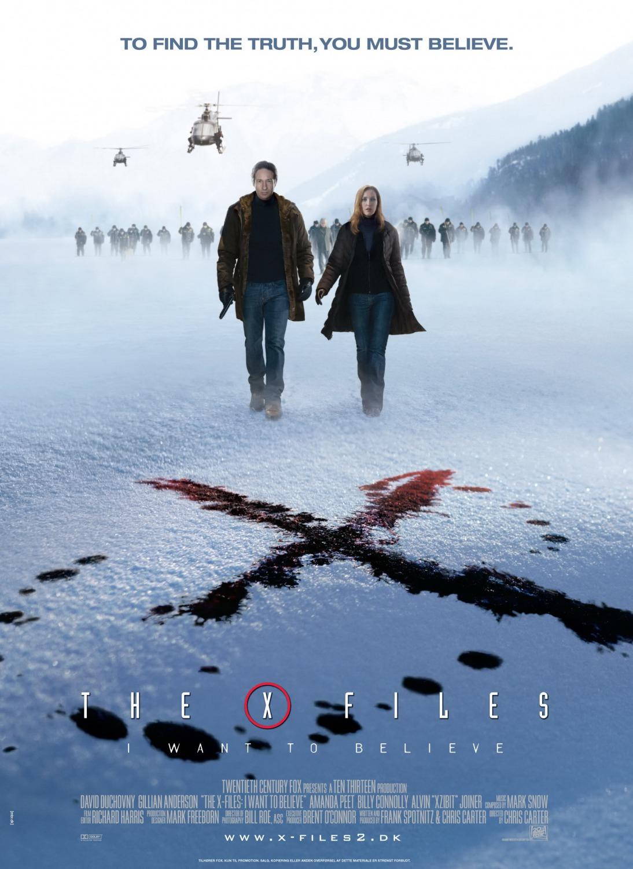 Πόστερ της ταινίας «The X-Files: Θέλω να πιστέψω (2008)»
