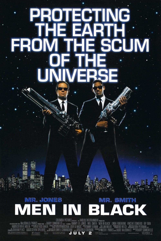 Πόστερ της ταινίας «Οι Άνδρες με τα Μαύρα (1997) | Men in Black»