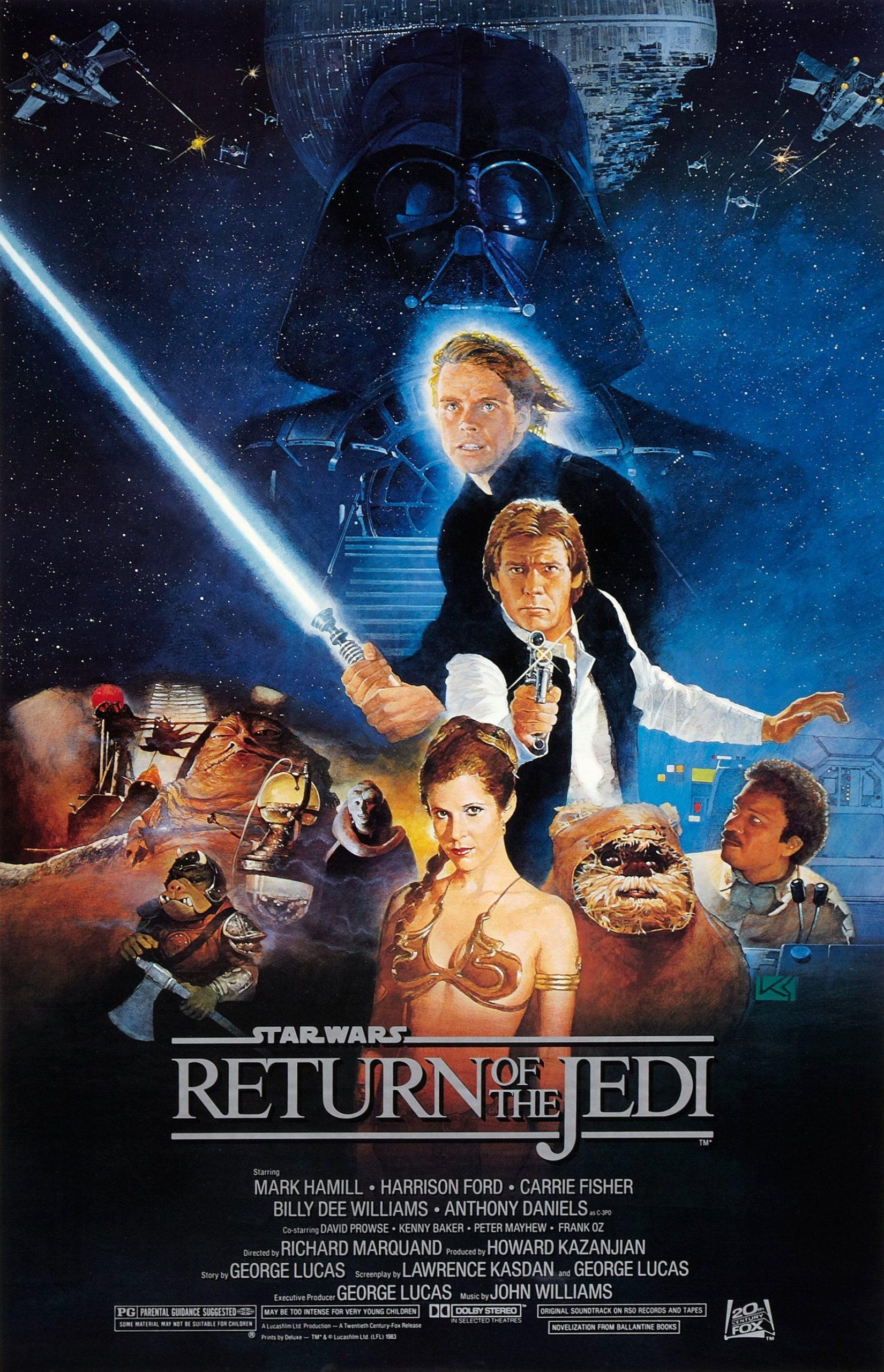 Πόστερ της ταινίας «Ο Πόλεμος των Άστρων: Επεισόδιο 6 – Η Επιστροφή των Τζεντάι (1983)»