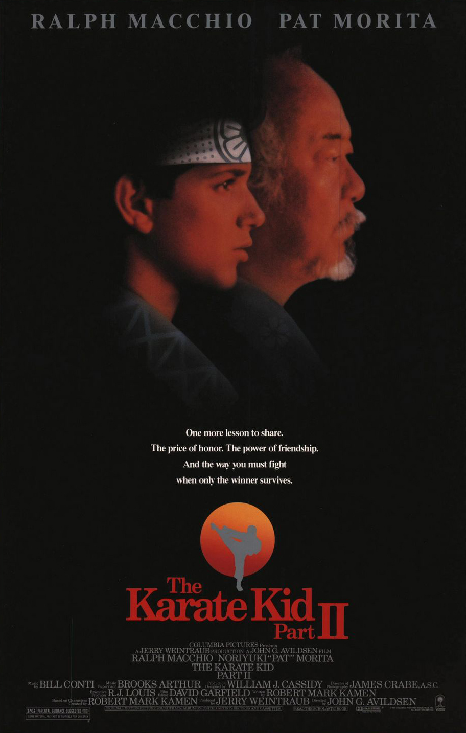 Πόστερ της ταινίας «Καράτε Κιντ 2 (1986) | The Karate Kid Part II»
