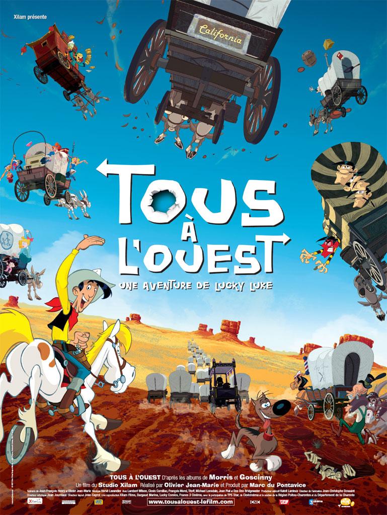 Πόστερ της ταινίας «Lucky Luke: Τρελές περιπέτειες στην Άγρια Δύση (2007)»