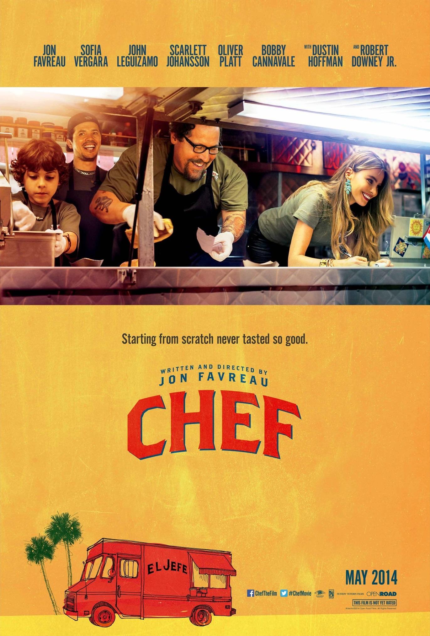 Πόστερ της ταινίας «Σεφ (2014) | Chef»