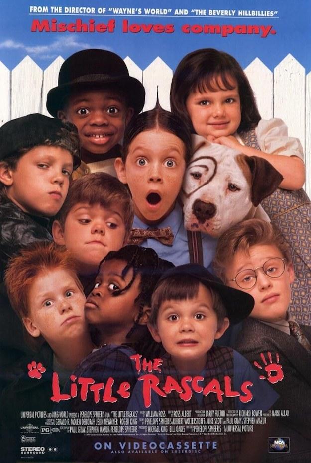 Πόστερ της ταινίας «Τα Διαβολάκια (1994) | The Little Rascals»