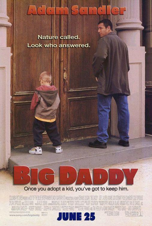 Πόστερ της ταινίας «Κατά Λάθος Μπαμπάς (1999) | Big Daddy»