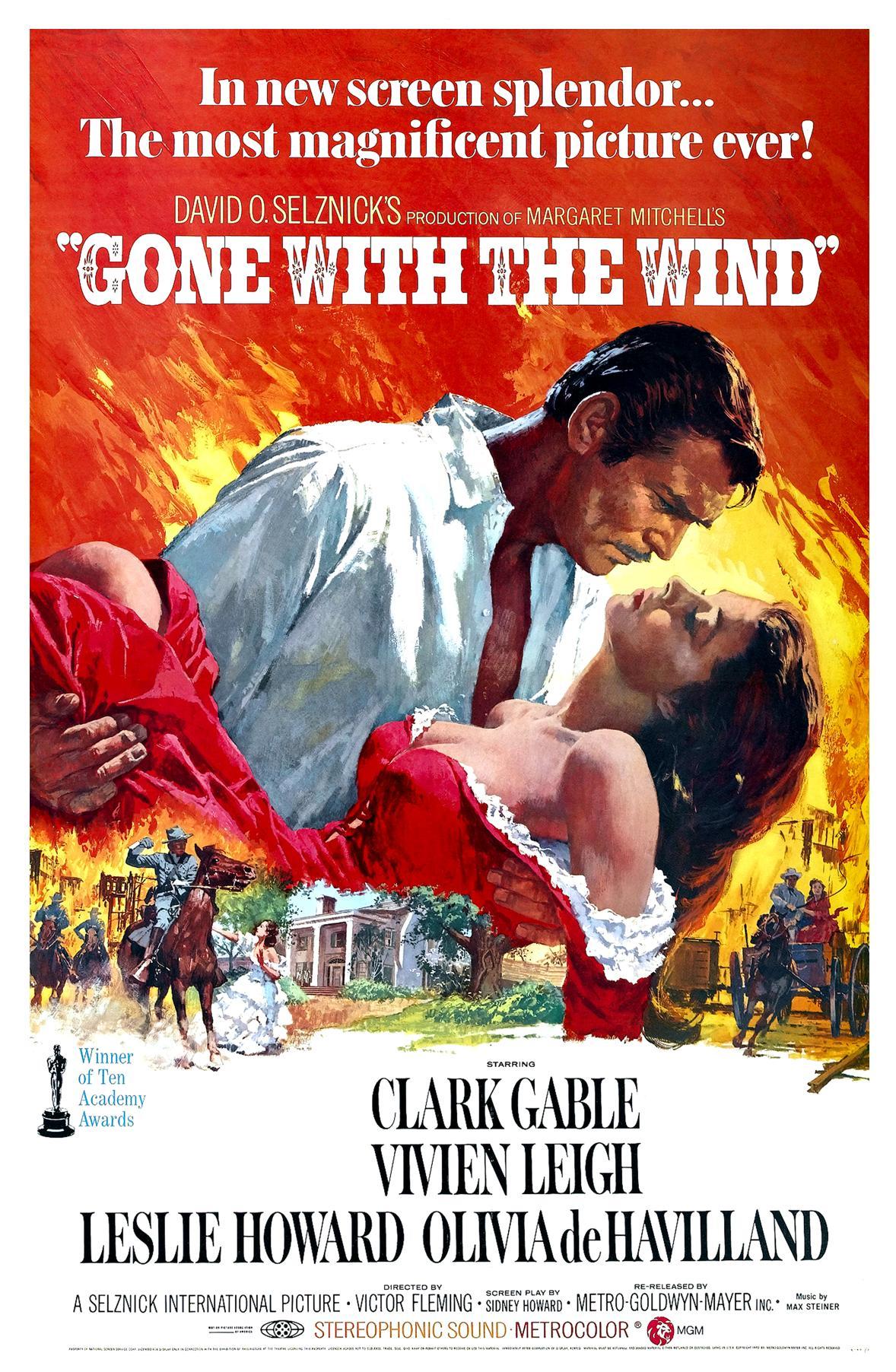 Πόστερ της ταινίας «Όσα παίρνει ο άνεμος (1939) | Gone with the Wind»