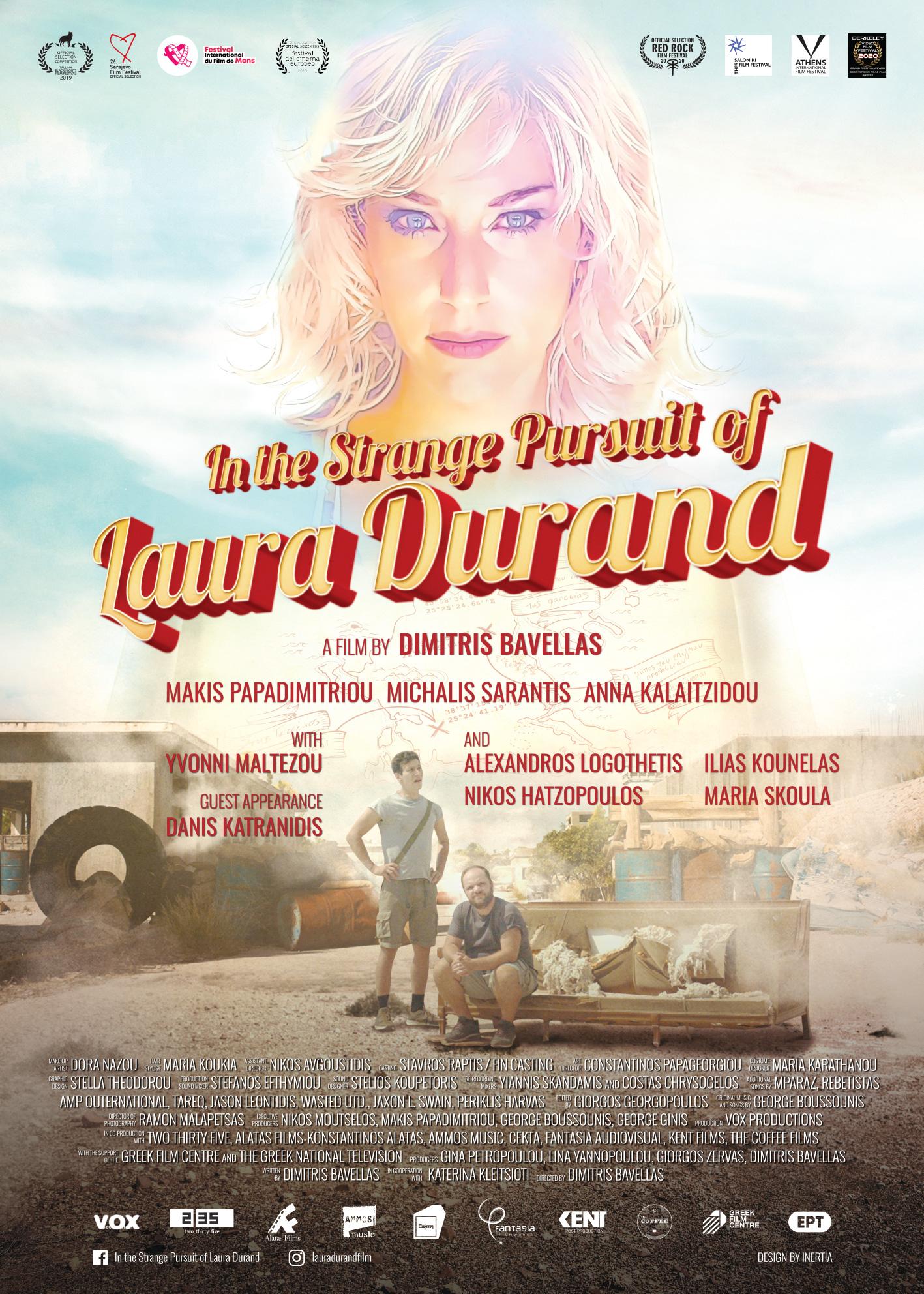 Πόστερ της ταινίας «Η αναζήτηση της Λώρα Ντουράντ (2019)»