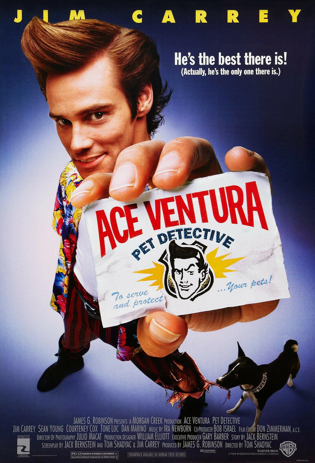 Πόστερ της ταινίας «Ντετέκτιβ ζώων (1994)   Ace Ventura: Pet Detective»