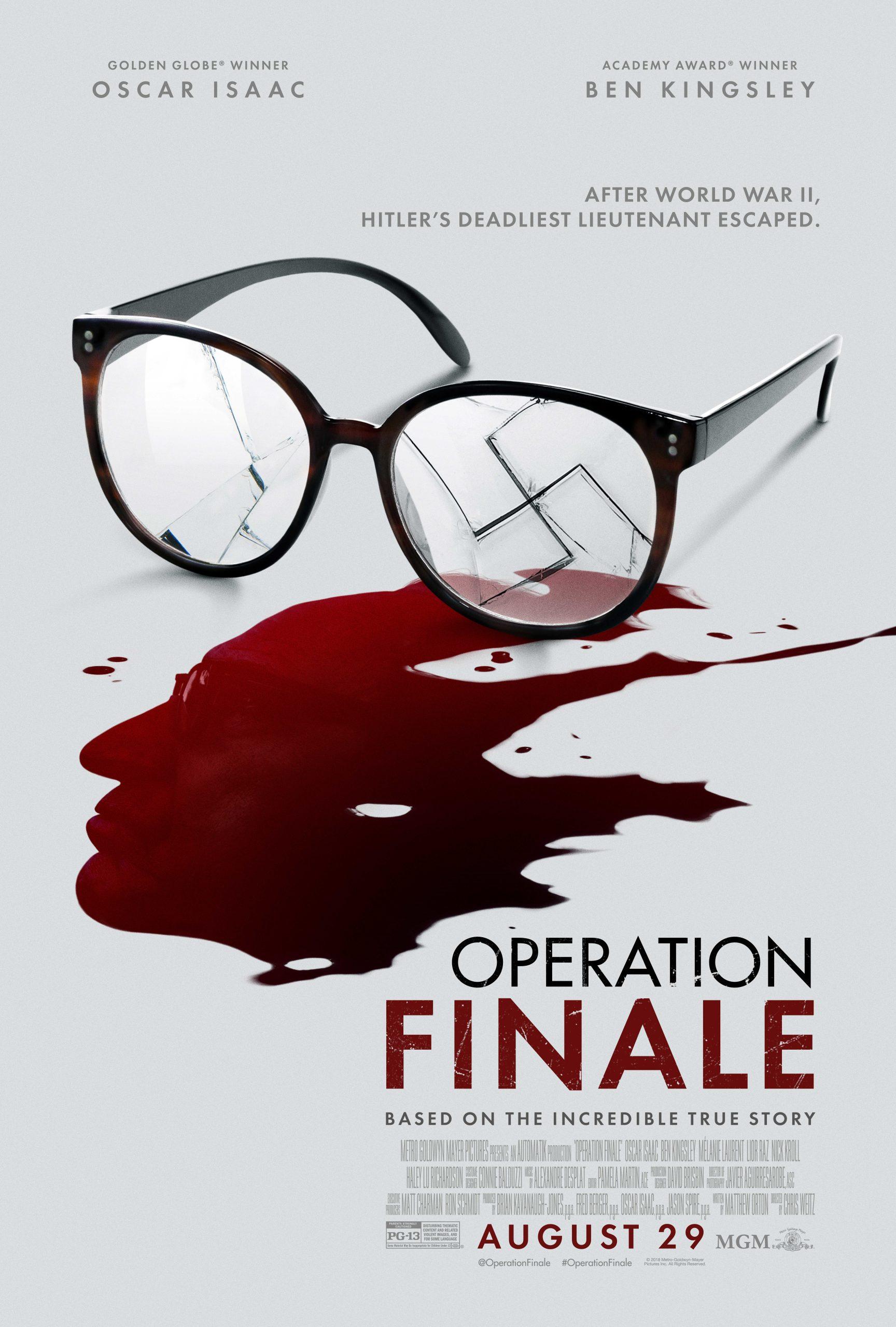 Πόστερ της ταινίας «Επιχείρηση: Φινάλε (2018) | Operation Finale»