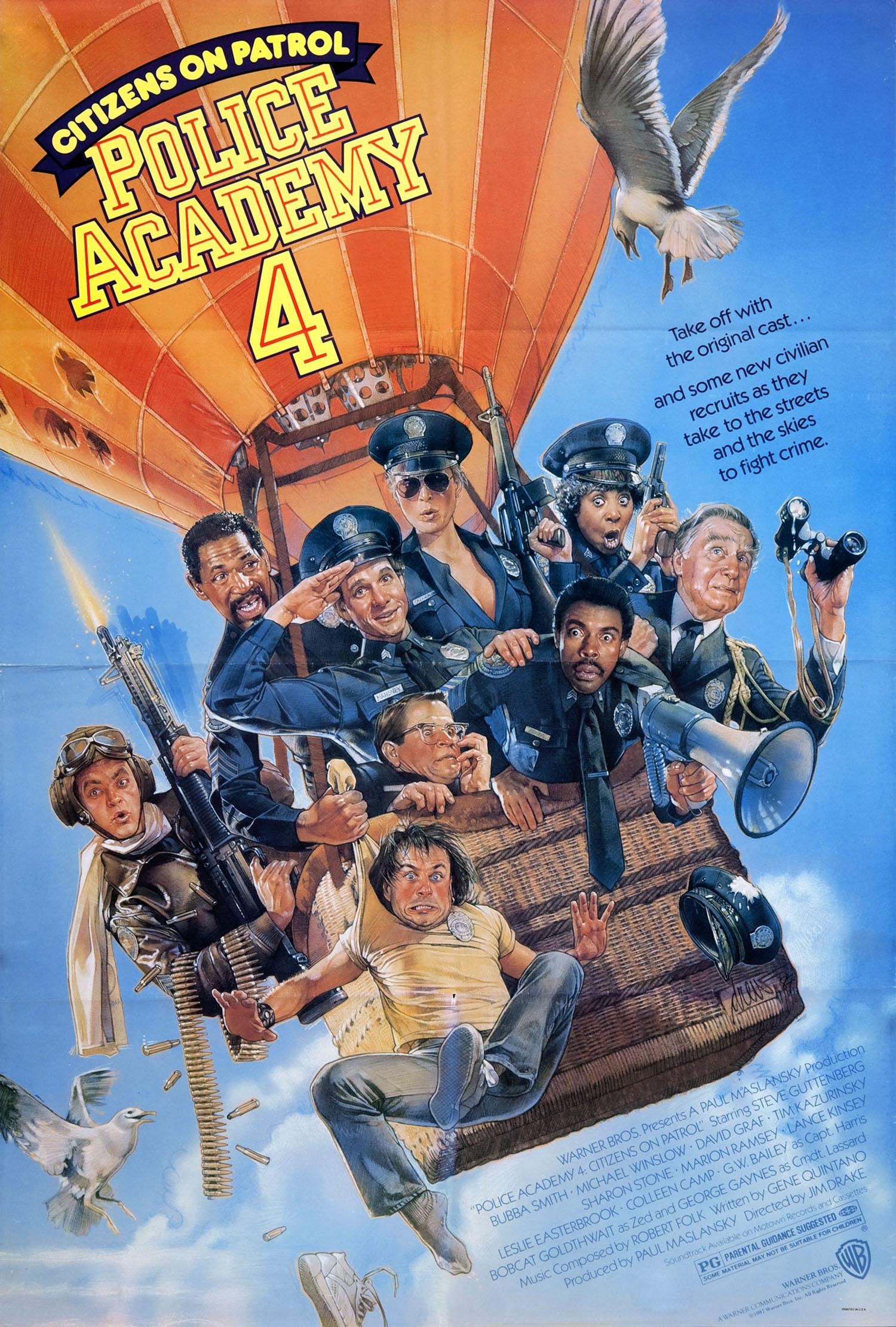 Πόστερ της ταινίας «Η Μεγάλη των Μπάτσων Σχολή Νο 4 (1987)»