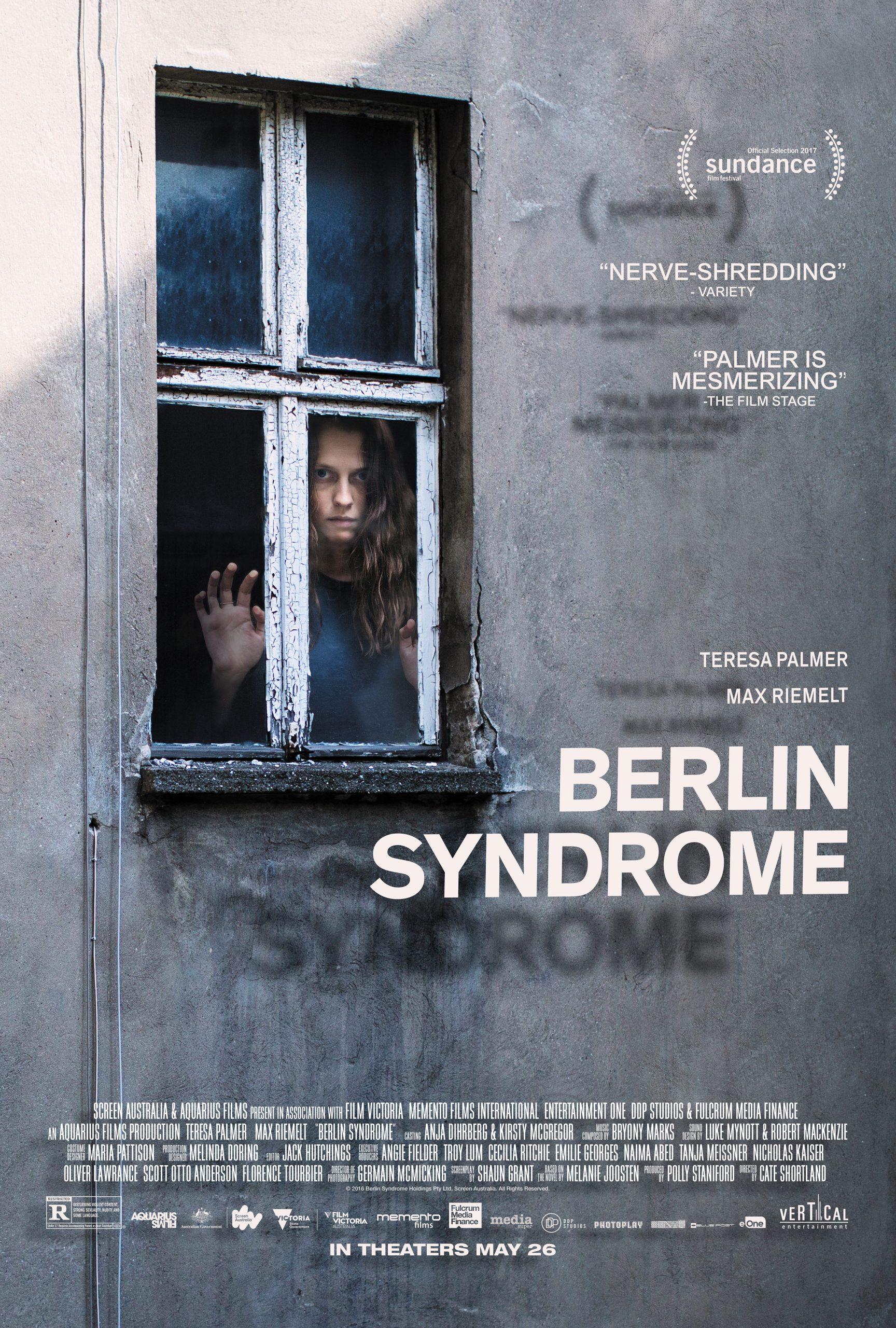 Πόστερ της ταινίας «Το Σύνδρομο του Βερολίνου (2017) | Berlin Syndrome»