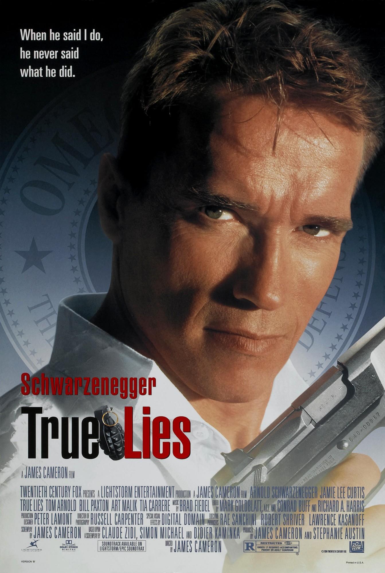 Πόστερ της ταινίας «Αληθινά ψέματα (1994) | True Lies»