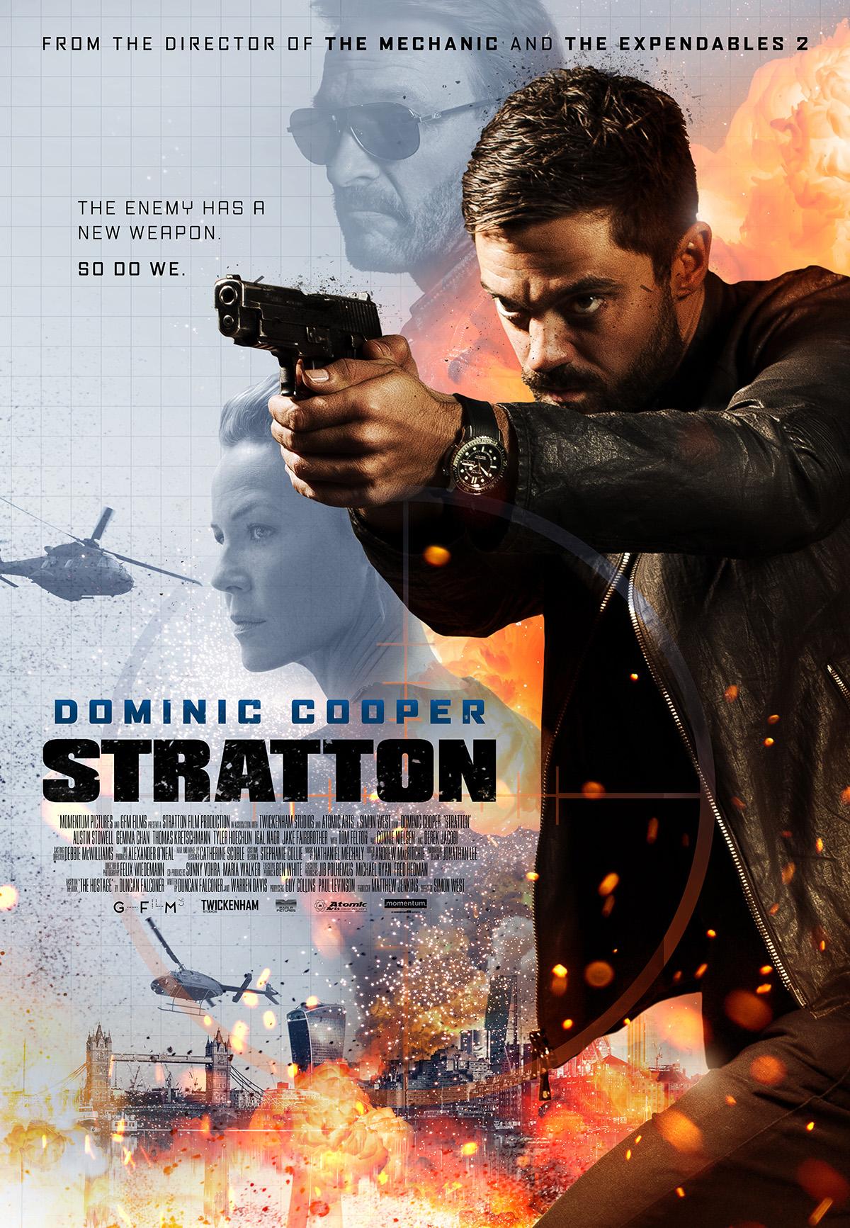 Πόστερ της ταινίας «Επίλεκτος πράκτορας Stratton (2017)   Stratton»