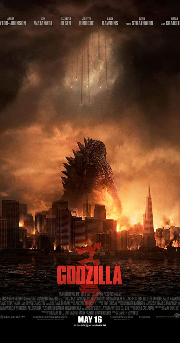 Πόστερ της ταινίας «Γκοτζίλα (2014)   Godzilla»