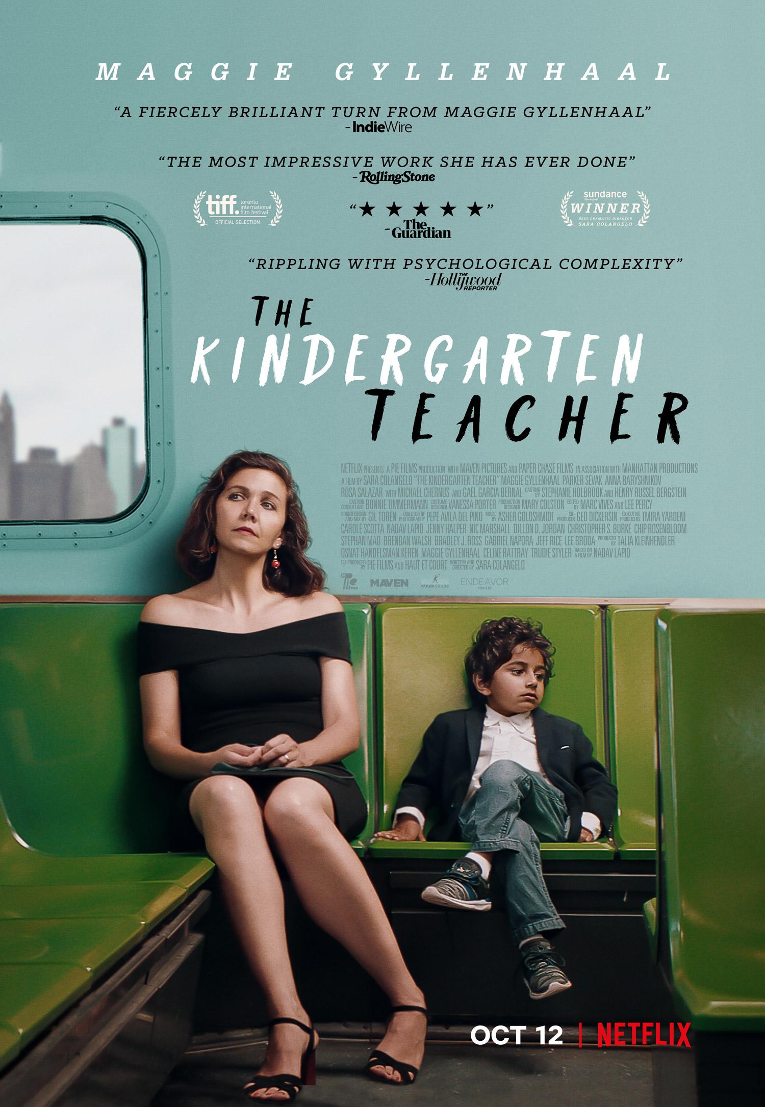 Πόστερ της ταινίας «Η Νηπιαγωγός (2018)   The Kindergarten Teacher»