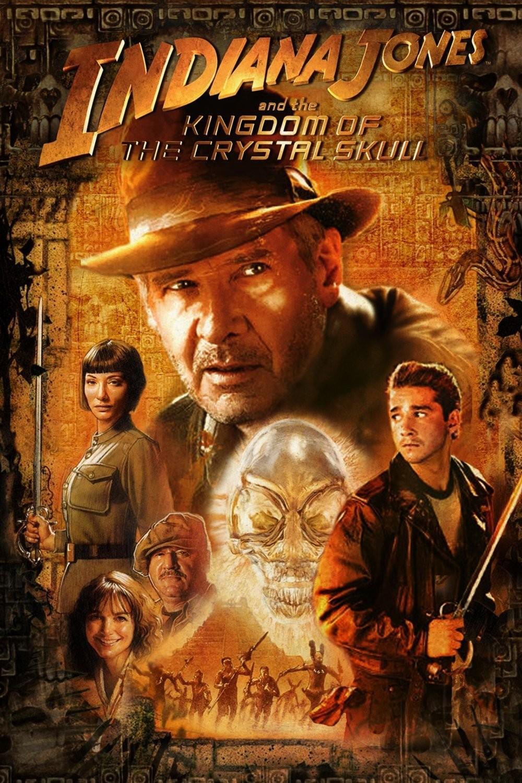 Πόστερ της ταινίας «Ο Ιντιάνα Τζόουνς και το Βασίλειο του Κρυστάλλινου Κρανίου (2008)»