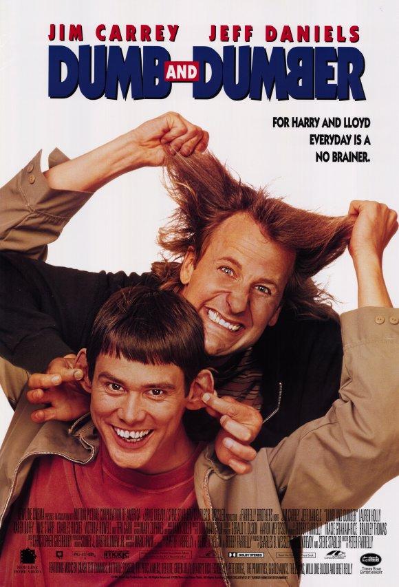 Πόστερ της ταινίας «Ο Ηλίθιος και ο Πανηλίθιος (1994) | Dumb and Dumber»