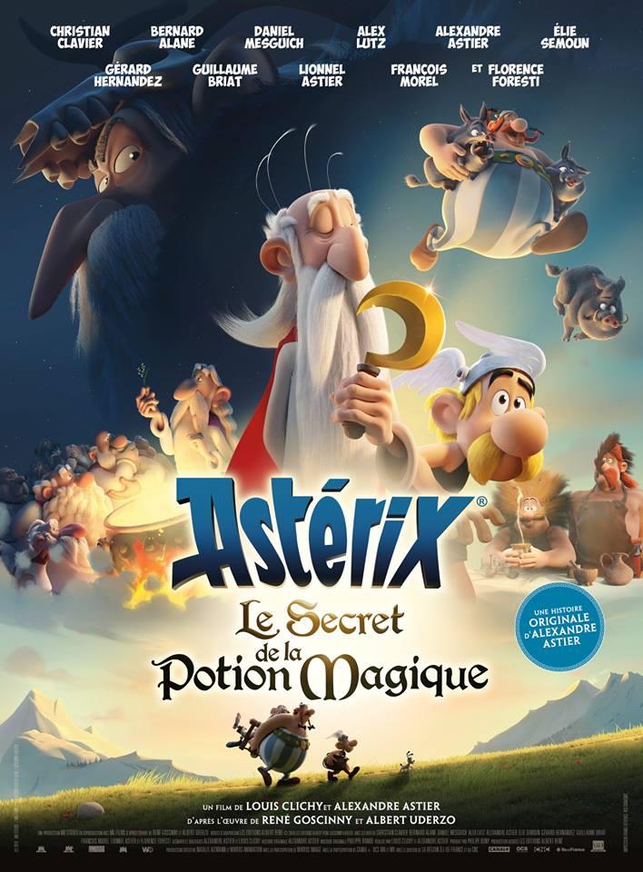 Πόστερ της ταινίας «Αστερίξ: Το Μυστικό του Μαγικού Ζωμού (2018)»