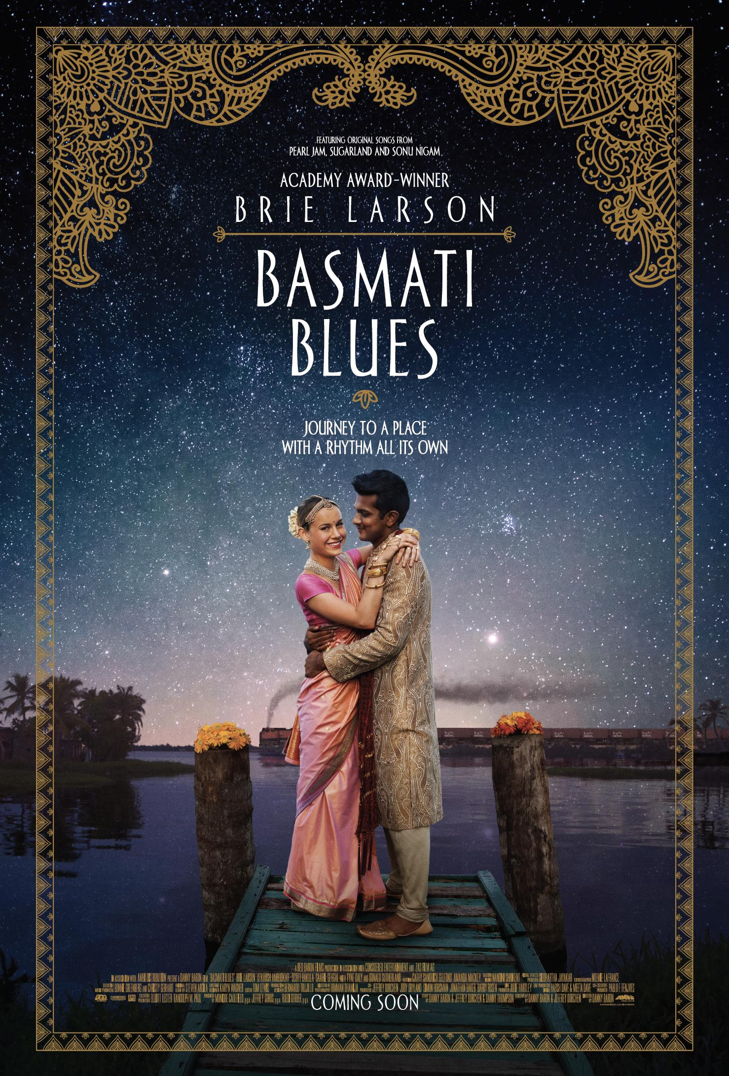 Πόστερ της ταινίας «Μπασμάτι Μπλουζ (2017) | Basmati Blues»